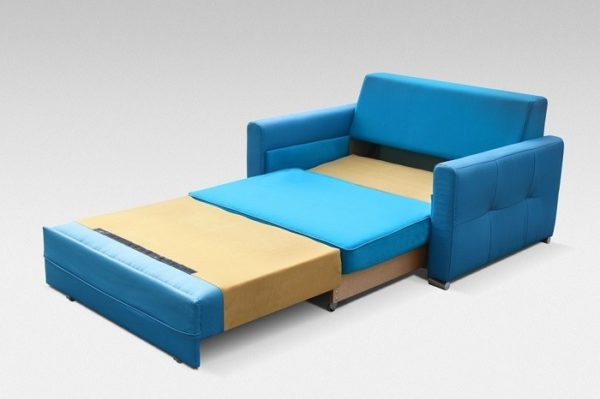 Mała sofa fotel kanapa rozkładana arte 135 cm meble górecki