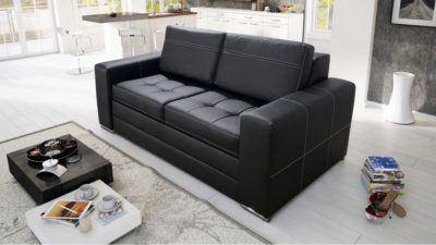 sofa-dwuosobowa-kanapa-rozkladana-verona-czarna-eko-skora