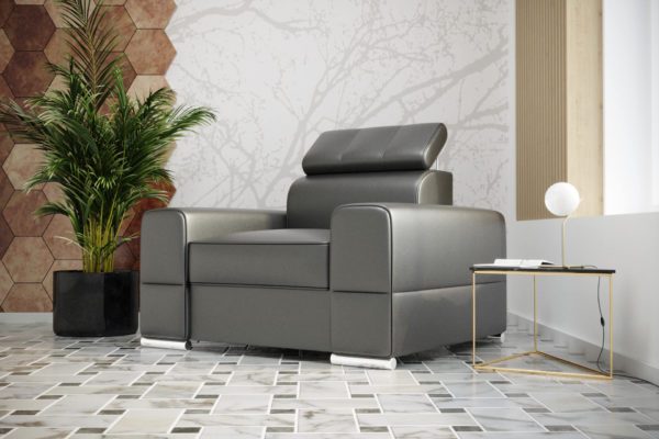 Fotel skórzany Royal klasyczny