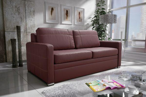 Sofa Kanapa rozkładana z funkcją spania meble górecki AVANTI III 160CM