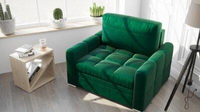 fotel-rozkladany-sofa-mala-verona-meble-tapicerowane-eko-skora-welwet-funkcja-spania-zielen-butelkowa