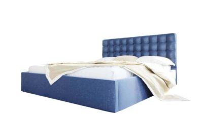 Łóżko Tapicerowane Loft podwójne 140x200 160x200 180x200 200x200 ze stelażem pojemnikiem na pościel meble do sypialni górecki