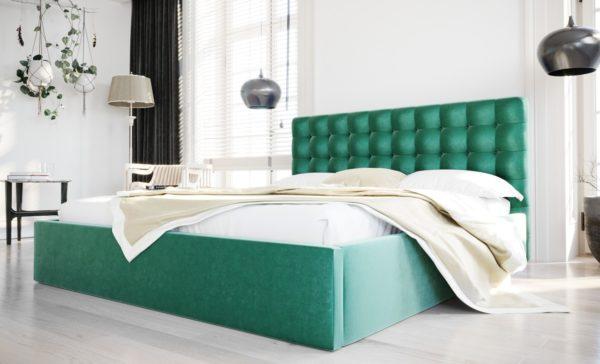 lozko-tapicerowane-piekne-zaglowek-pikowany-140-160-180-200-ze-stelazem-pojemnikiem-loft-niebieski-zielony-butelkowy