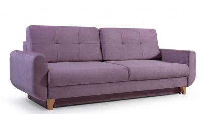 Sofa LENA 232 Kanapa rozkładana z funkcją spania, pojemnikiem na pościel