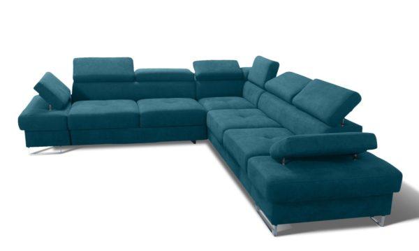 naroznik-tapicerowany-rozkladany-z-funkcja-spania-zaglowki-regulowane-welwet-welur-eko-skora-niebieski-turkus
