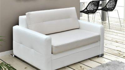Mała sofa fotel kanapa rozkładana arte 100 cm meble górecki