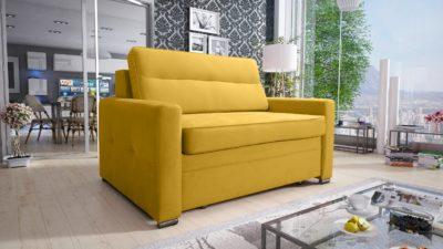 Fotel rozkładany Arte, funkcja spania