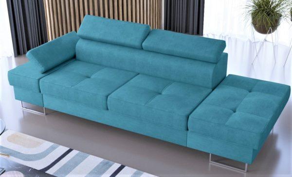 sofa-dwuosobowa-nowoczesna-galaxy-szezlong-turkusowa