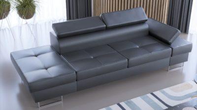 Sofa Galaxy II skórzana