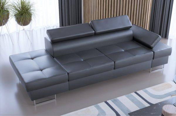 sofa-dwuosobowa-nowoczesna-galaxy-szezlong-czarna