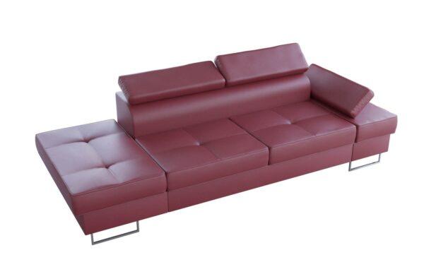 sofa-dwuosobowa-nowoczesna-galaxy-szezlong-bordowa