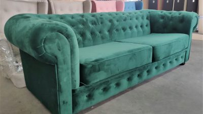 Sofa Chesterfield w stylu angielskim
