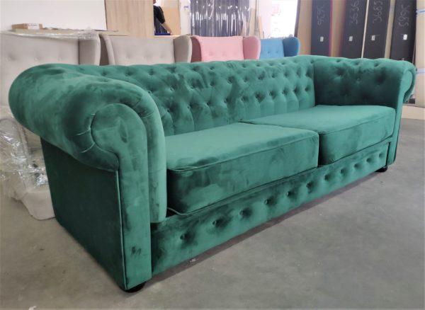 sofa-chesterfield-dwuosobowa-trzyosobowa-rozkladana-angielska-zielona-butelkowa