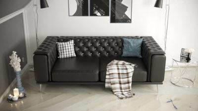Sofa dwuosobowa Manchester, sofa salonowa