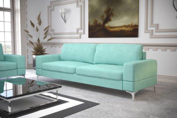 sofa-dwuosobowa-rozkladana-pojemnik-na-posciel-aria-na-wysokich-nozkach-pastelowa-mietowa