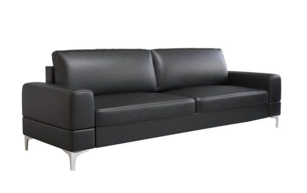 sofa-kanapa-dwuosobowa-elegancka-na-wysokich-nozkach-czarna
