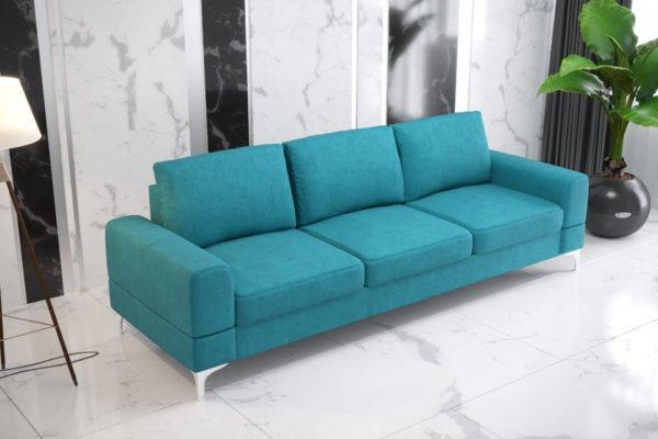 sofa-trzyosoboa-rozkladana-pojemnik-na-posciel-aria-na-wysokich-nozkach-turkusowa
