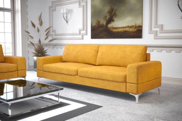 sofa-dwuosobowa-rozkladana-pojemnik-na-posciel-aria-na-wysokich-nozkach-zolta-welwet