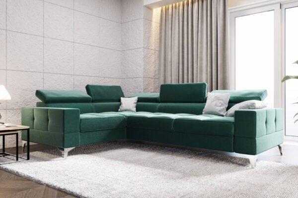 naroznik-rozkladany-rogowka-sofa-tapicerowane-meble-nowoczesne-toscania-eko-skora-welwet-zielen-butelkowa