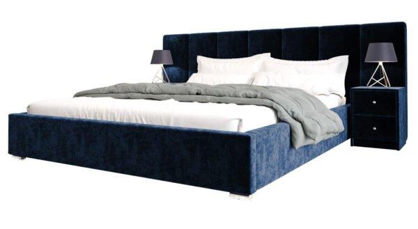 lozko-z-szafkami-nocnymi-szufladami-140-160-180-200-eko-skora-welwet-bella-niebieskie
